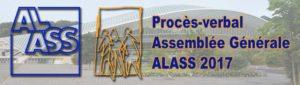 Procès-verbal de Assemblée Générale de l'ALASS 2017