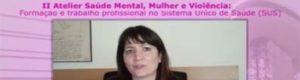 Mónica De Angelis – Atelier: Santé mentale, femmes et violence