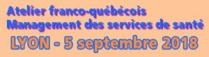 Nouveau atelier – Septembre 5 – Lyon