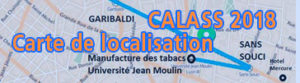 CALASS 2018 – Carte de localisation