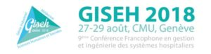 GISEH 2018 – 27-29 Août 2018