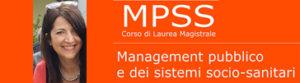 Monica De Angelis: eletta Presidente del Corso Master MPSS
